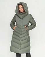 CLASNA | Куртка женская 8596 фисташковый