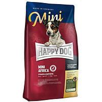 """Сухий корм """"Happy Dog Supreme Mini Africa"""" 24/12 (для дорослих собак дрібних порід) 300 гр"""
