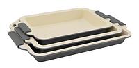 Набор форм для выпекания Royalty Line 3pcs (RL-CC3G), Швейцария, серый