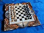 """Эксклюзивное предложение - набор Шахматы шашки нарды 3 в 1 от """"Мастер-Маркет""""."""