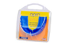 Капа OPRO Junior Snap-Fit Electric Blue (art.002143009), фото 3
