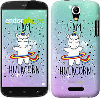 "Чехол на Doogee Y100X I'm hulacorn ""3976u-1109-5114"""