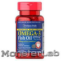 Puritan'sPride Omega-31290mgMini Gels 60 капсул