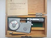 Микрометр рычажный (Германия) аналог   МР-25 (0-25) возможна калибровка в УкрЦСМ, фото 1