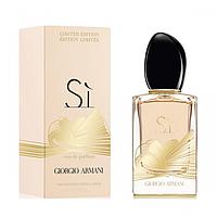 Женская парфюмированная вода Giorgio Armani Si Eau de Parfum Golden Bow Limited Edition, 100 ml