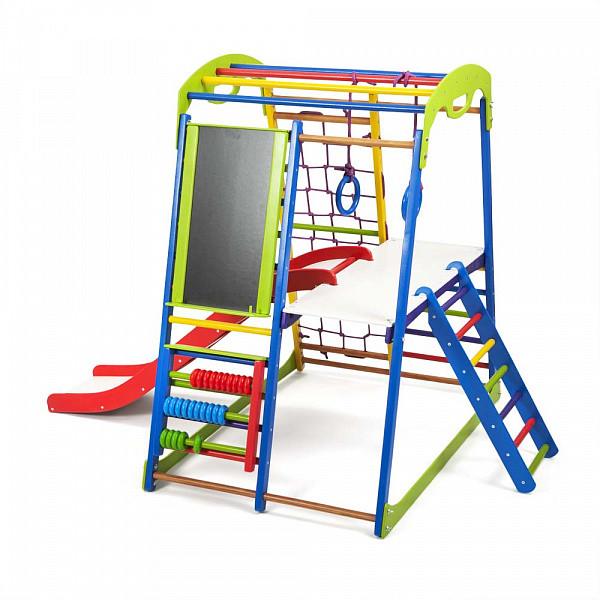 Дитячий спортивний комплекс для будинку SportWood Plus 3, виробник SportBaby
