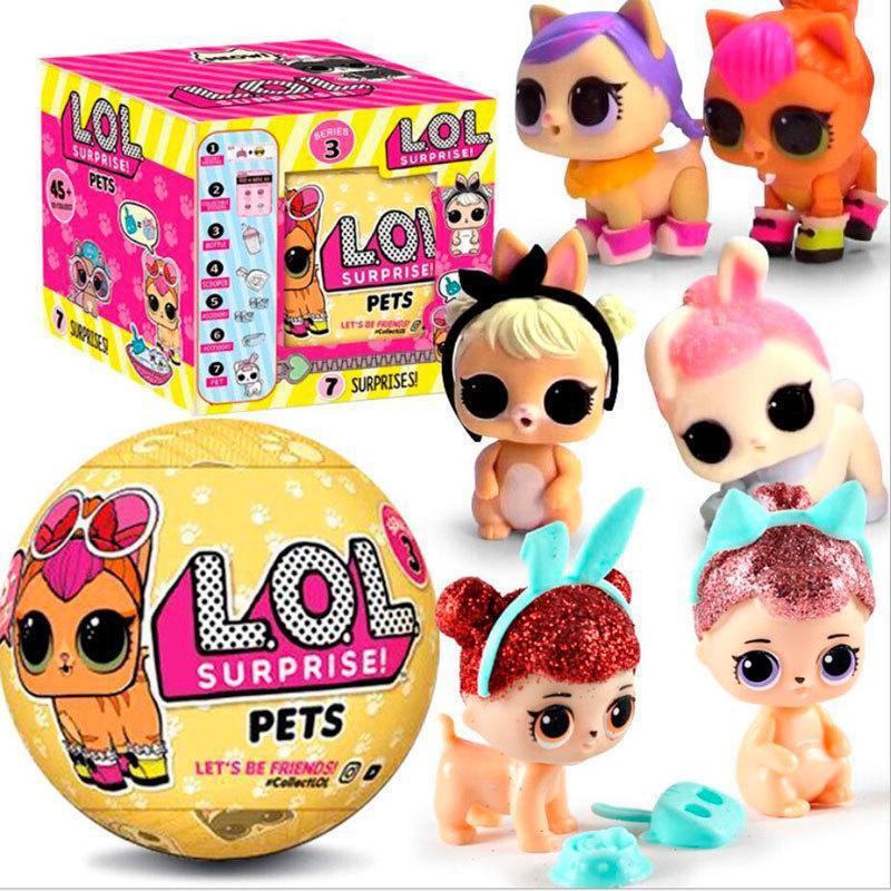 Кукла LOL Surprise Pets Питомцы