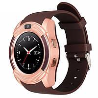 Умные часы Smart Watch UWatch V8 Brown