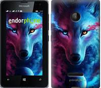 "Чехол на Microsoft Lumia 532 Dual Sim Арт-волк ""3999u-151-5114"""