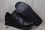Кросівки в стилі Reebok Classic Black унісекс, фото 2