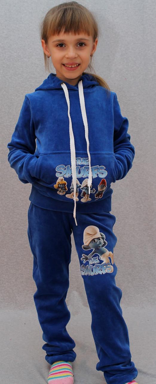Костюм спортивный Смурфики синий