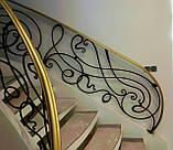 Кованые перила для лестницы, фото 3