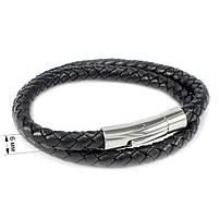 Кожаный браслет двойной Арт. BS005LR, фото 6