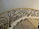 Кованые перила для лестницы, фото 6