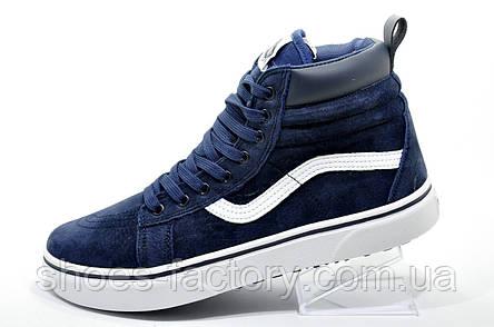 Зимние кеды Vans Old Skool Winter  Мужские, на меху   Shoes-Factory 7f8d8fc2cb0