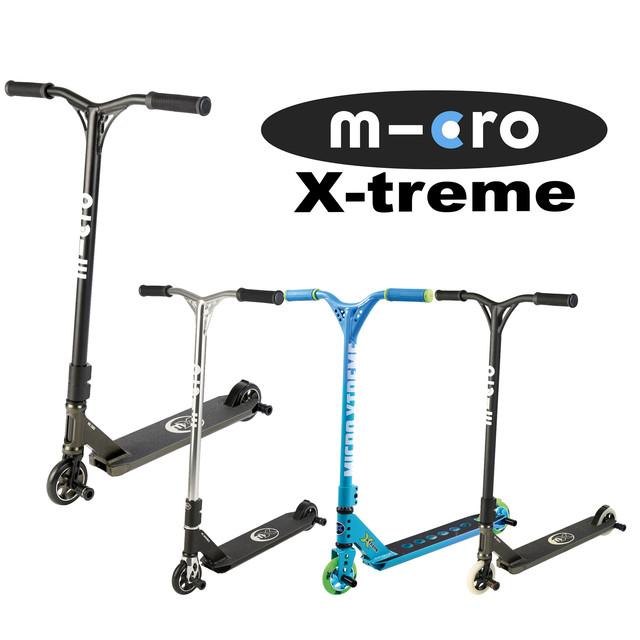 Трюковые самокаты Micro X-treme, Globber GS
