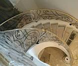 Кованые перила для лестницы, фото 7