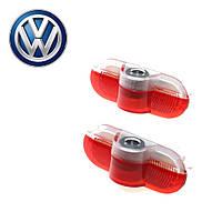 Штатна Led підсвічування двері з логотипом Volkswagen