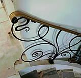 Кованые перила для лестницы, фото 8