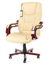 Кресло офисное массаж Prezydent Calviano S