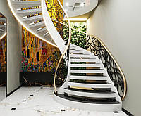 Кованые перила для лестницы, фото 1