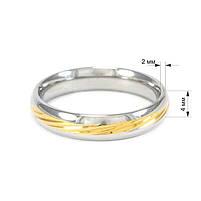 Кольцо с желтой вставкой Арт. RN029SL (19), фото 5