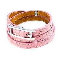 Кожаный браслет Ремешок розовый Арт. BS014LR, фото 5