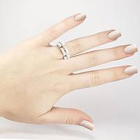 Кольцо керамическое в стиле Chanel белое Арт. RN021CR (16), фото 2