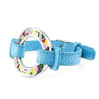 Кожаный браслет Часики голубой Арт. BS016LR, фото 5