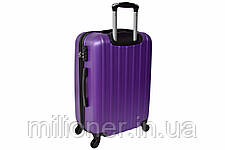 Чемодан Siker Line (небольшой) фиолетовый, фото 2
