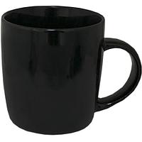 Чашка черная керамическая 360 мл.