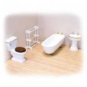 Игрушечная мебель для ванной комнаты