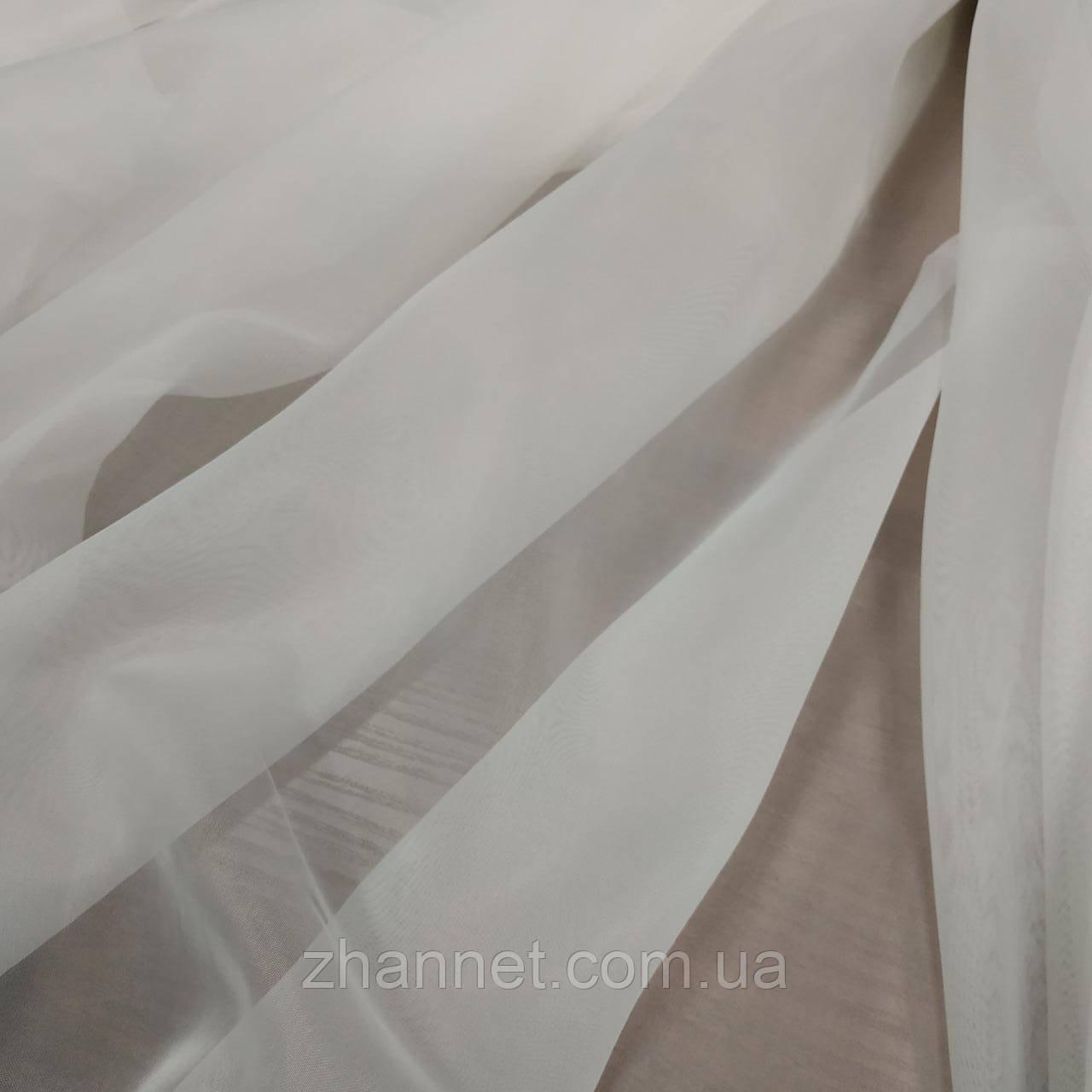 Тюль Вуаль молочный 290 см (49283)