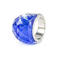 Кольцо крупное с синим камнем Арт. RN057SL (17), фото 4