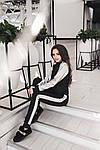 "Прогулочный костюм женский брюки и кофта ""Серебро"", фото 4"