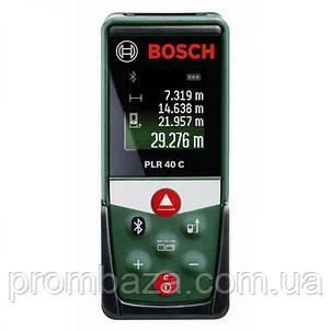 Лазерный дальномер Bosch PLR 40 C, фото 2