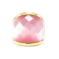 Кольцо крупное с розовым камнем Арт. RN060SL (18), фото 3