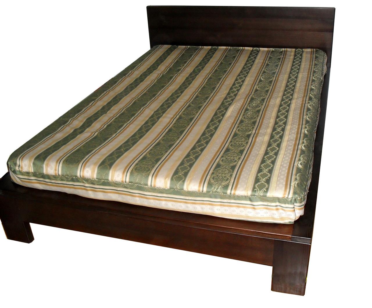 """Двухспальная кровать из массива дерева """"Порту"""""""