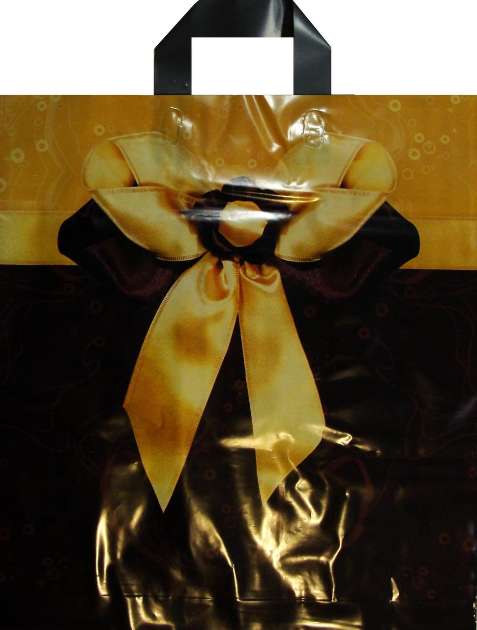 Пакет петля 40*43 Подарочный бант