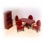 Игрушечная мебель для столовой