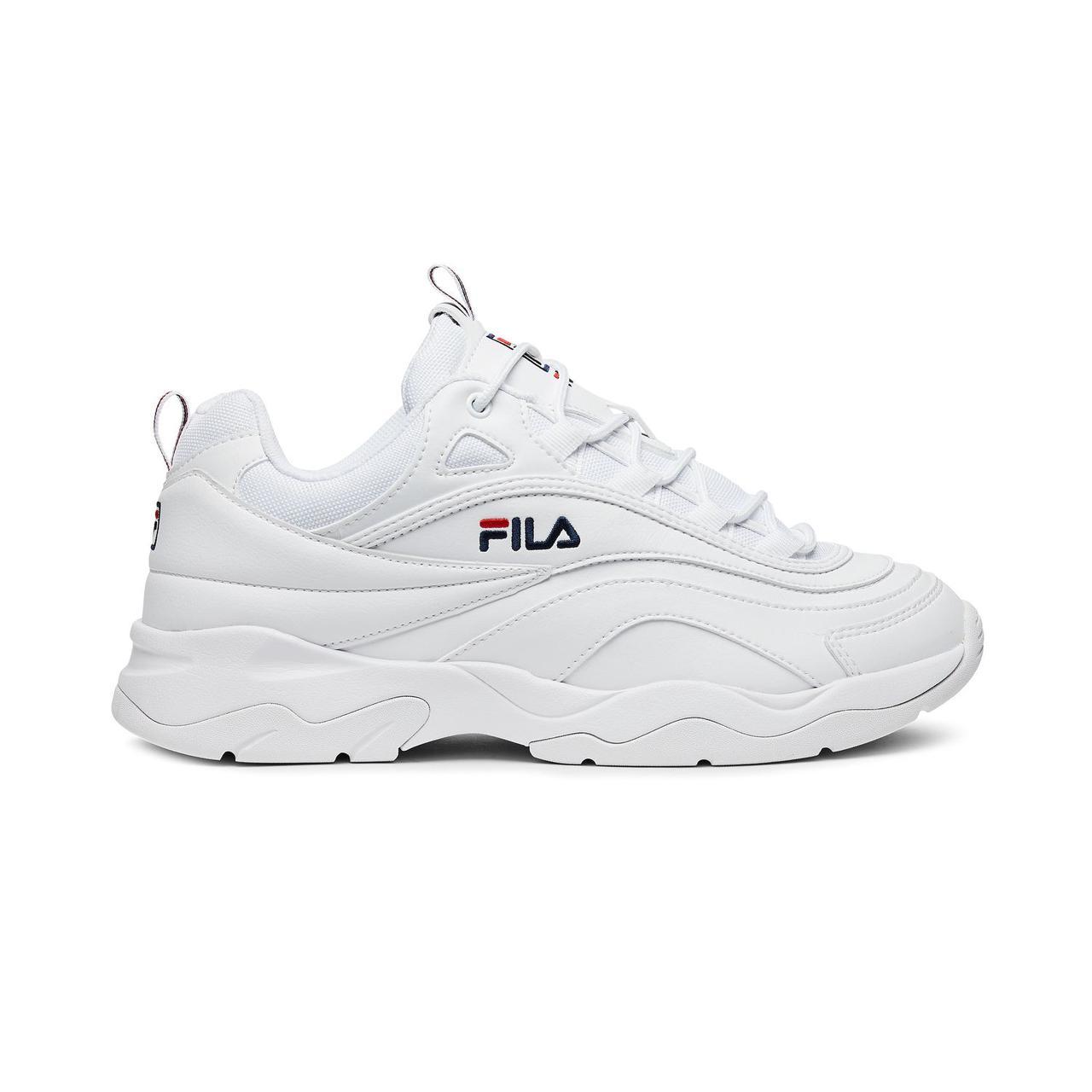 """Кросівки Fila Ray """"White"""" (Білі)"""