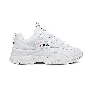 """Кросівки Fila Ray """"White"""" (Білі), фото 2"""