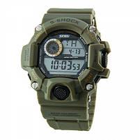 Часы тактические S-Shock Skmei 1019 Green, фото 3