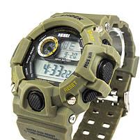 Часы тактические S-Shock Skmei 1019 Green, фото 4