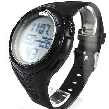 Часы с шагомером Skmei 1122 Black
