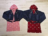 Набор-двойка для девочек оптом, Glo-story, 110-160 рр., арт. GLT-7495, фото 1