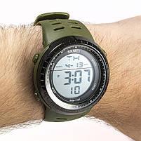 Часы спортивные Skmei 1167 Green, фото 2
