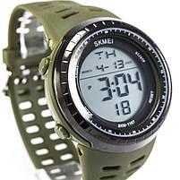 Часы спортивные Skmei 1167 Green, фото 4