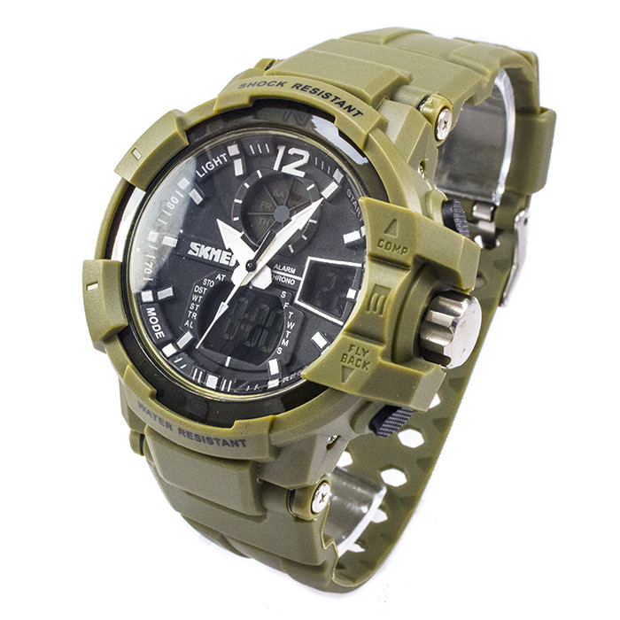 Часы спортивные Skmei 1040AGB Green