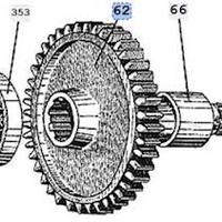 Шестерня Т-150  151.37.236-2  прив ходоум (44)